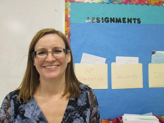 Students not surprised Caruso is Absegami's teacher of year