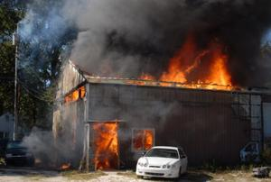 lt car yard fire