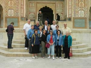 Linwood Rotarian immunizes children in India