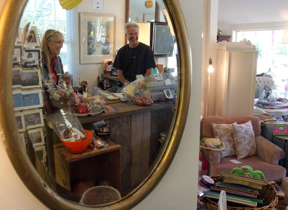 Merger of households grows into eclectic shop