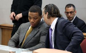 Ray Rice Arraigned