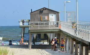 Open Space: Monday July 29 2013 Ventnor Pier related to open space measure that was up for a vote in the senate on Monday. (The Press of Atlantic City / Ben Fogletto) - Ben Fogletto
