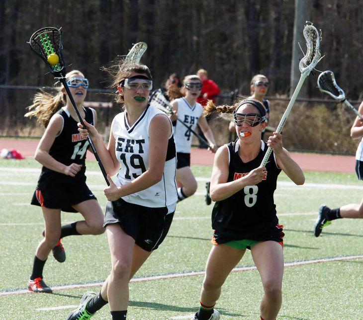 Middle Township vs Egg Harbor Township girls lacrosse