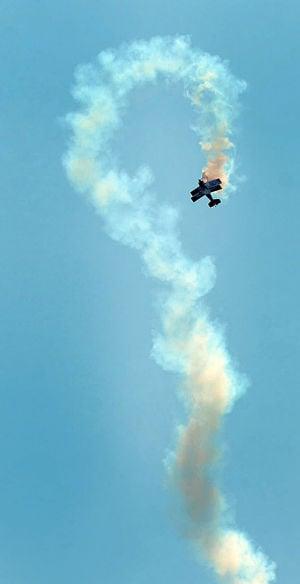 Airshow Practice: Tuesday June 25 2013 Atlantic City AirShow practice. (The Press of Atlantic City / Ben Fogletto) - Ben Fogletto
