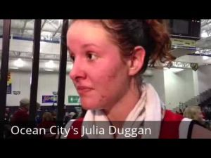 Interview with Ocean City's Julia Duggan about winning a state title, March 10, 2013