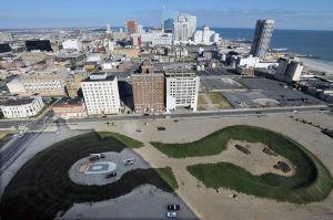 Pinnacle: Aerial view of the Pinnacle site in Atlantic City.  - Michael Ein, Nov. 5, 2012