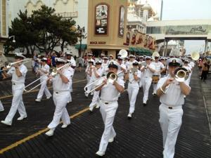 Parade starts