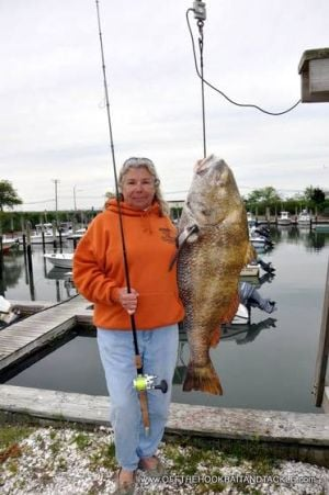 Shep on Fishing: Ocean City woman possibly sets world record for black drumfish