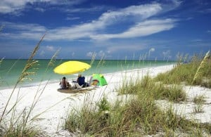 Quiet beaches found on Sanibel Island