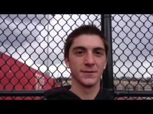 Vineland boys tennis player Andrew Massaro