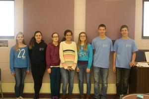 Seven Teitelman students to perform with  All South Jersey Junior High Honors Band