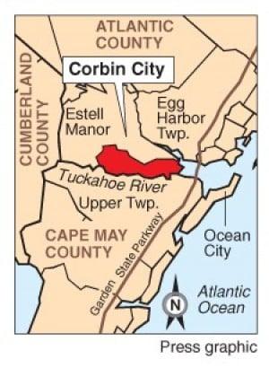 Route  Corbin City Nj
