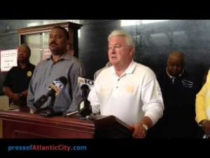 Atlantic City Evacuation Press Conference