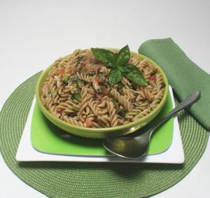 Pasta salad captures the feeling of summer
