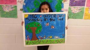 Soil spurs Wildwood girls  to design winning posters