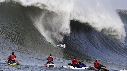 Mavericks surf contest photos