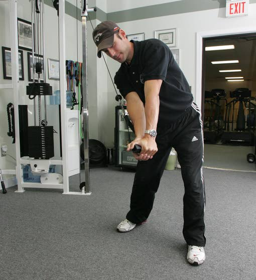 Putting strength in a swing: Building more muscle will help you lower your score