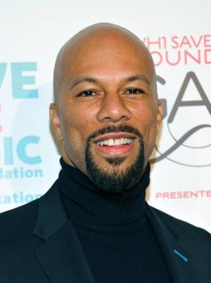 Musician-actor, Common, working on book