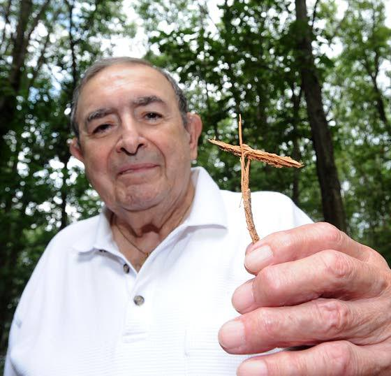 Everyone Has a Story: Cross formed by lightning strengthens faith for Egg Harbor Township man