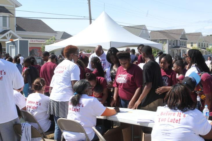 PVILLE ANTI-VIOLENCE COOKOUT