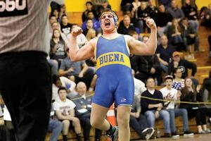 St. Augustine Prep dominates District 32 wrestling with 11 advancing