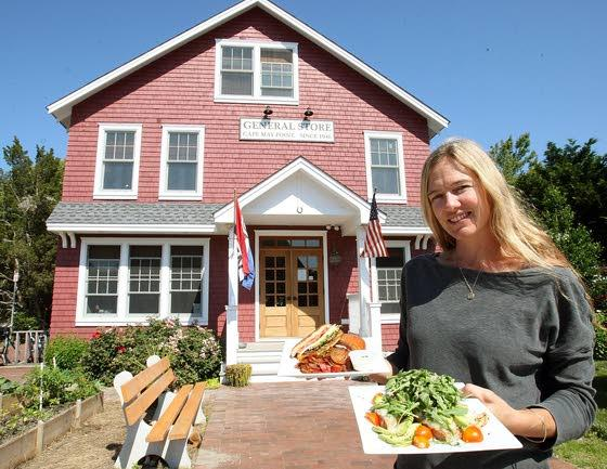 The Red Store in CapeMay Point has its own bakery, restaurant and coffee shop