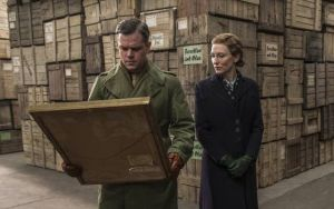 A Look At A Real Man Portrayed In 'Monuments Men': In 'The Monuments Men,' Matt Damon portrays a character inspired by New York's Metropolitan Museum of Art curator James Rorimer and Cate Blanchett's character is based on French art expert Rose Valland.