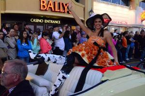 Miss America Parade: Miss Oregon Allison Elizabeth Cook - Vernon Ogrodnek