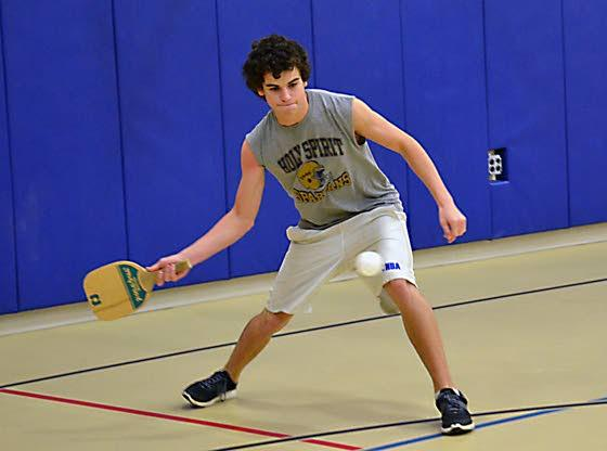 Brigantine CER introduces residents to different racket sport - Pickleball
