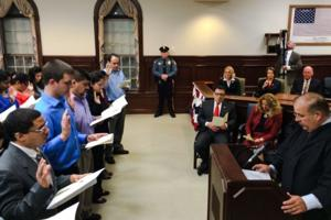 Cape May County naturalization ceremony