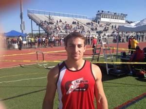 Boys track and field MVP: Rocco Ordille, St. Joseph