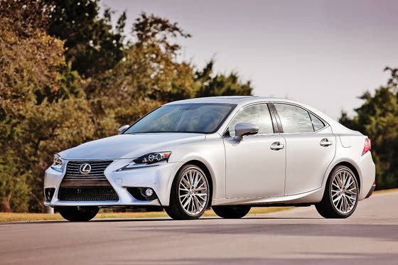 Lexus 2014 IS 'Aggressive Elegance'