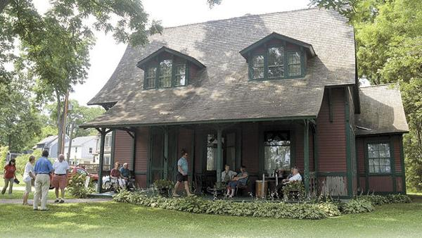 Historic lakeside cottage reopens