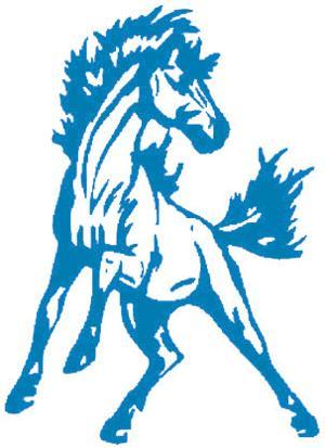 Mora Mustangs logo