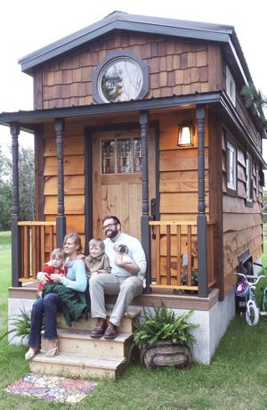 Family s tiny house earns tv feature your local online for Tiny house family of 6