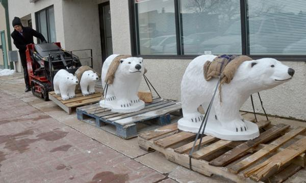 White Bear delivery