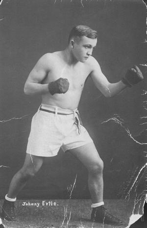 Johnny Ertle: former bantamweight boxing champion of the world