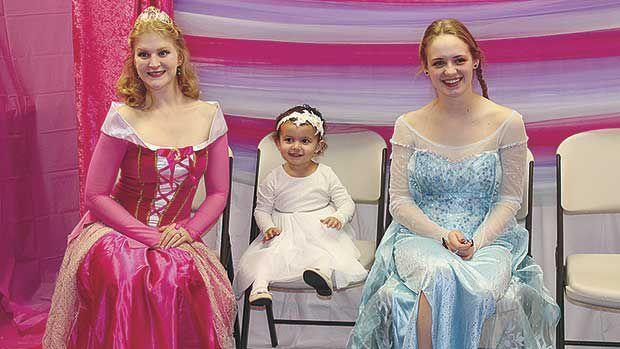 Royalty put on the moves at Royal Princess Ball