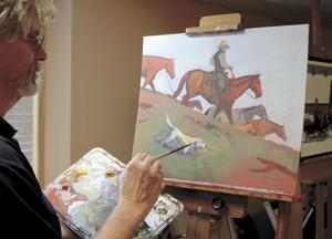 Stillwater painter heads up equine art roundup