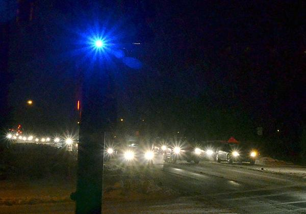 Goal of blue lights is to catch red-light-runners