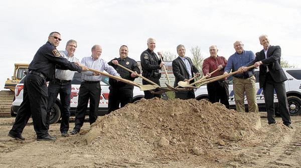 Ground is broken on Lino Lakes' state-of-the-art fire station