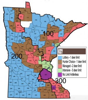 MN Deer Hunting Zone Map  Your Local Online Newspaper News