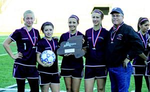 PPR Chateaugay 1119 girls awards photo 2