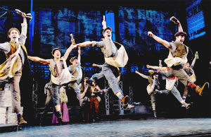 "<p class=""p1""><strong>""Newsies"" is based on the historical Newsboy Strike of 1899, when newsboy Kid Blink led a group of orphan and runaway newsies on a campaign against publishers William Randolph Hearst and Joseph Pulitzer to reform their compensation.</strong></p>"