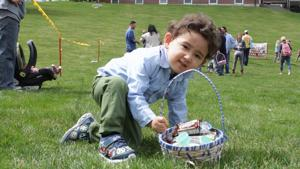 Easter Egg Hunt in Middlebury