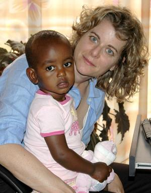 "<p>Author Christine Ieronimo poses with her daughter, Alemitu. She will present a program based on her book, ""A Thirst for Home,"" at 1 p.m. Saturday, May 6 at the Morris Public Library, 4 North St.</p>"