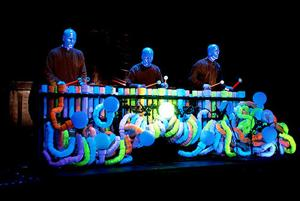"<p class=""p1""><strong>The Blue Man Group will perform from February 13 to 15 at the Waterbury Palace Theater. The group's show brings a sound, set and video design centered around a proscenium-sized LED curtain and high-resolution screen that creates an entirely new, high-impact visual experience for audiences across the nation. </strong></p>"