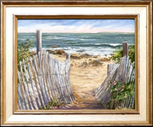 "<p class=""p1""><strong>Acrylic paintings by Southbury artist Jo Rembish will exhibit through Wednesday, August 27, in the Gloria Cachion Gallery at Southbury Public Library, 100 Poverty Rd., Southbury.</strong></p>"