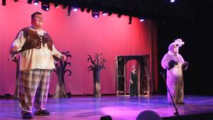 'Shrek the Musical' Rehearsals