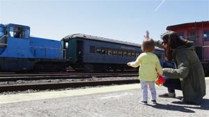 Easter Bunny Visits Danbury Railway